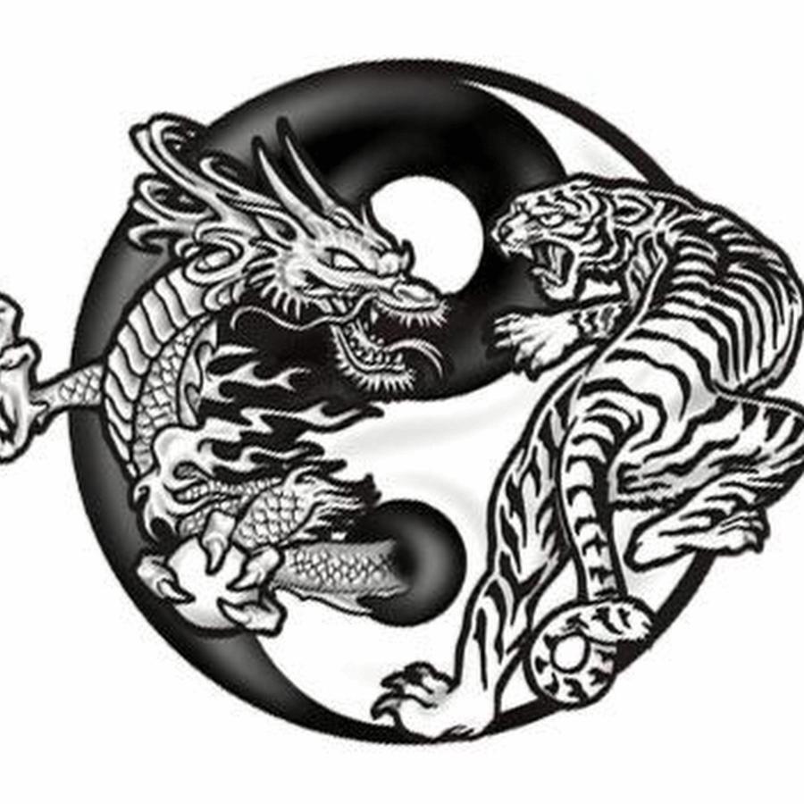 Image result for dragon yin yang tattoo tattoo pinterest yin yang tattoos and tattoo - Tatouage ying yang ...