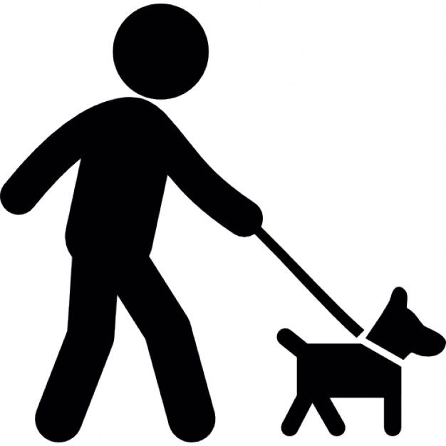 Person Walking With Dog Icons Free Download Dog Icon Pet Sitting Services Dog Walking Rates