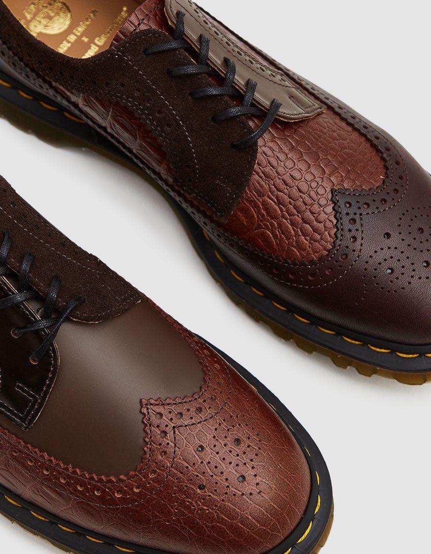 Engineered Garments 3989 Brogue Shoe in