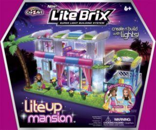 Lite Brix Lite Up Mansion Building Set   Gettington Great Finds ...