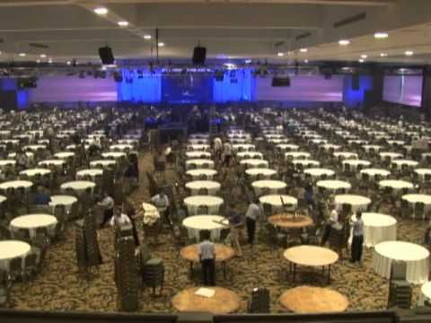 Conference Set Up Changeover At Gaylord Opryland Resort