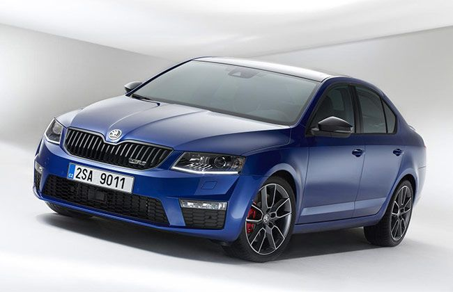New Skoda Octavia Vrs Uk Pricing Announces Avtomobili Tachka