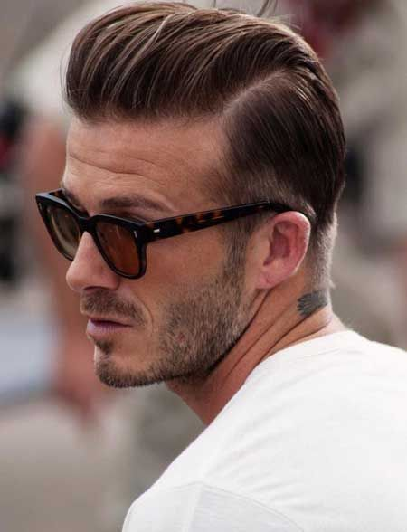 David Beckham Hairstyle Picture Gallery Bad Ass Cutz Pinterest