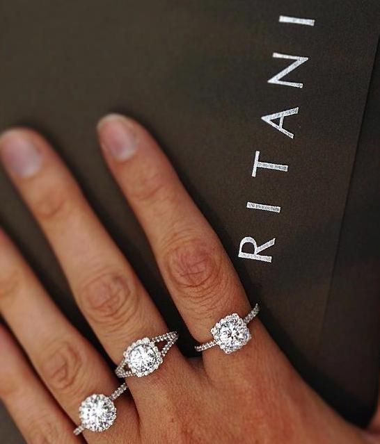 Ritani French Set Halo Engagement Rings Ritanipinterest Diamond Band Engagement Ring Future Engagement Rings Square Wedding Rings
