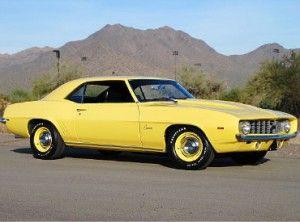 Chevrolet Camaro   American Classic Cars - 1969 427 C.O.P.A.