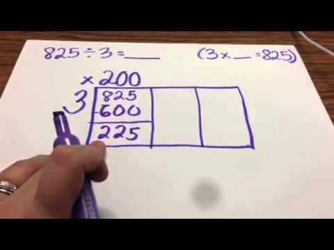rectangle method for division youtube for future teacher math division fourth grade math. Black Bedroom Furniture Sets. Home Design Ideas