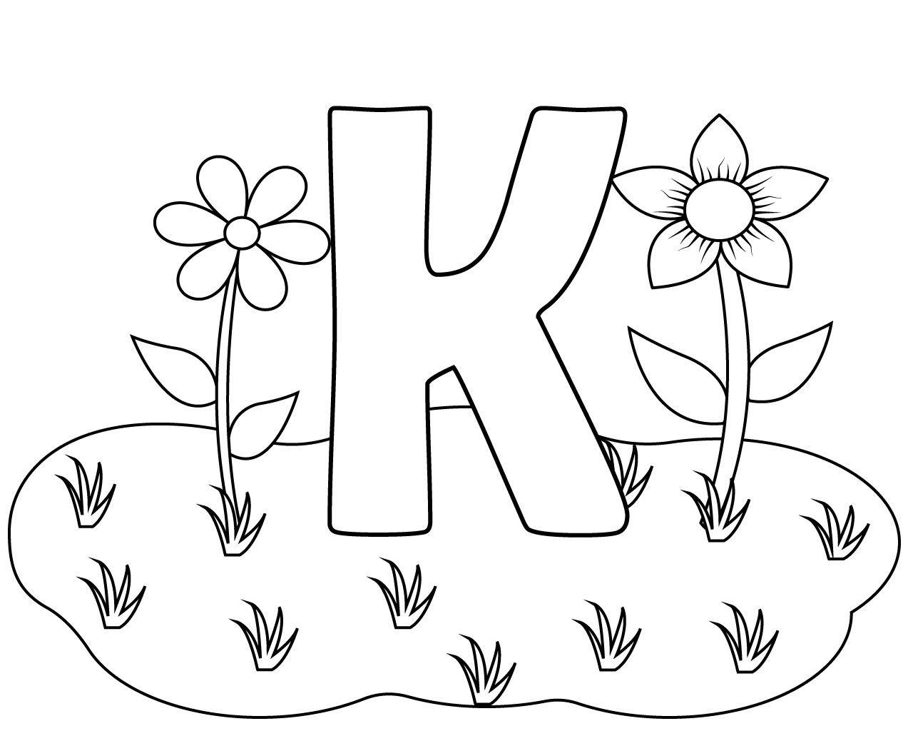 Preschool Letter K Coloring Pages Kindergarten Coloring Pages Coloring Pages Printable Letters