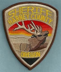 Harney County OR SO | Oregon LE Patches | Police patches