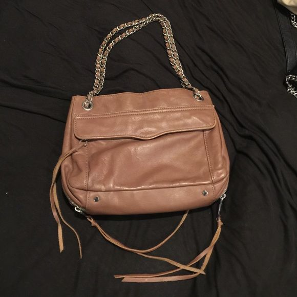 Rebecca Minkoff swing bag purse other than the small stains it s in very  good condition . Silver hardware. Feel free to offer  ) Rebecca Minkoff Bags d2d0c05e101d4