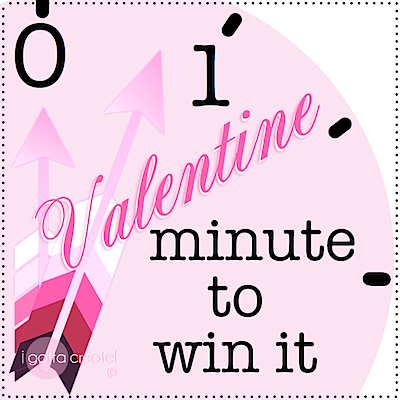 bottle drop minute to win it valentine game