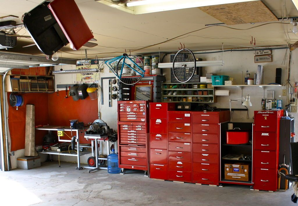 Filing Cabinets Used For Tool Storage Garage