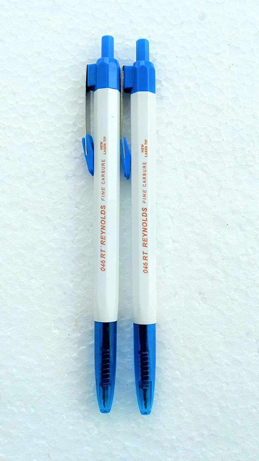 DTL Company Reynolds 046RT Ball Pen, Blue Ink, Pack of 10