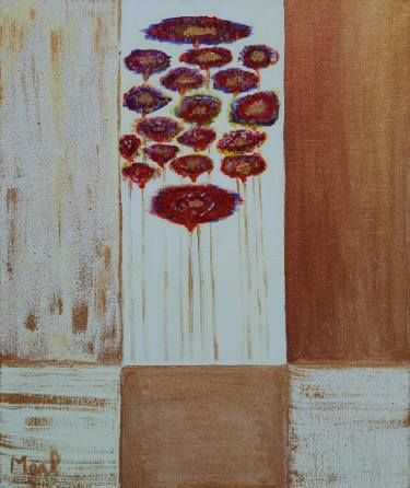 "Saatchi Art Artist marleen becks; Painting, ""Anemoon SOLD"" #art"
