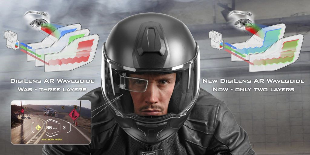 Digilens Announces New Two Layer Ar Display For Smart Helmets