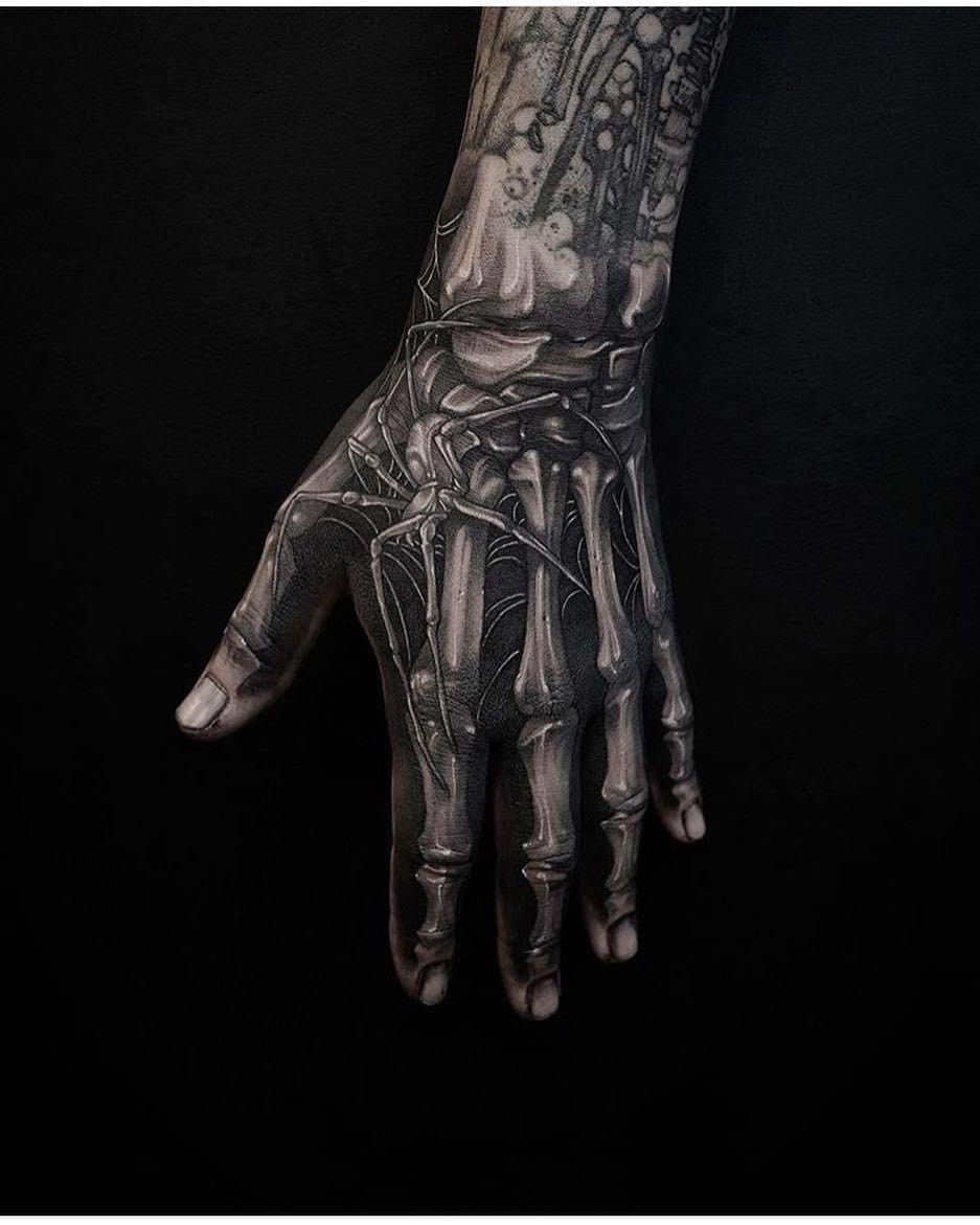 Pin Von Jiri Hejmala Auf Ulubione Hand Tattoos