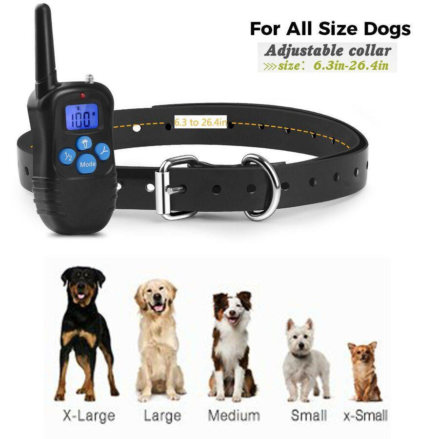 Waterproof 330 Yards Pet Dog Training Shock Collar Remote