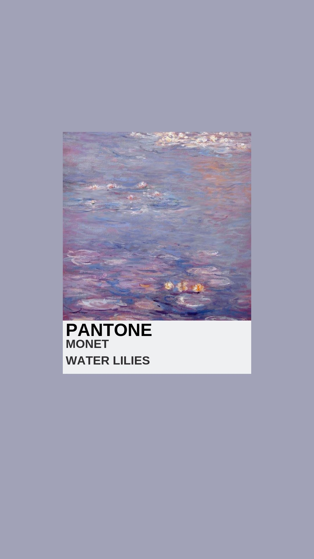 Monet Waterlilies Arthoe Aesthetic Arthoeaesthetic