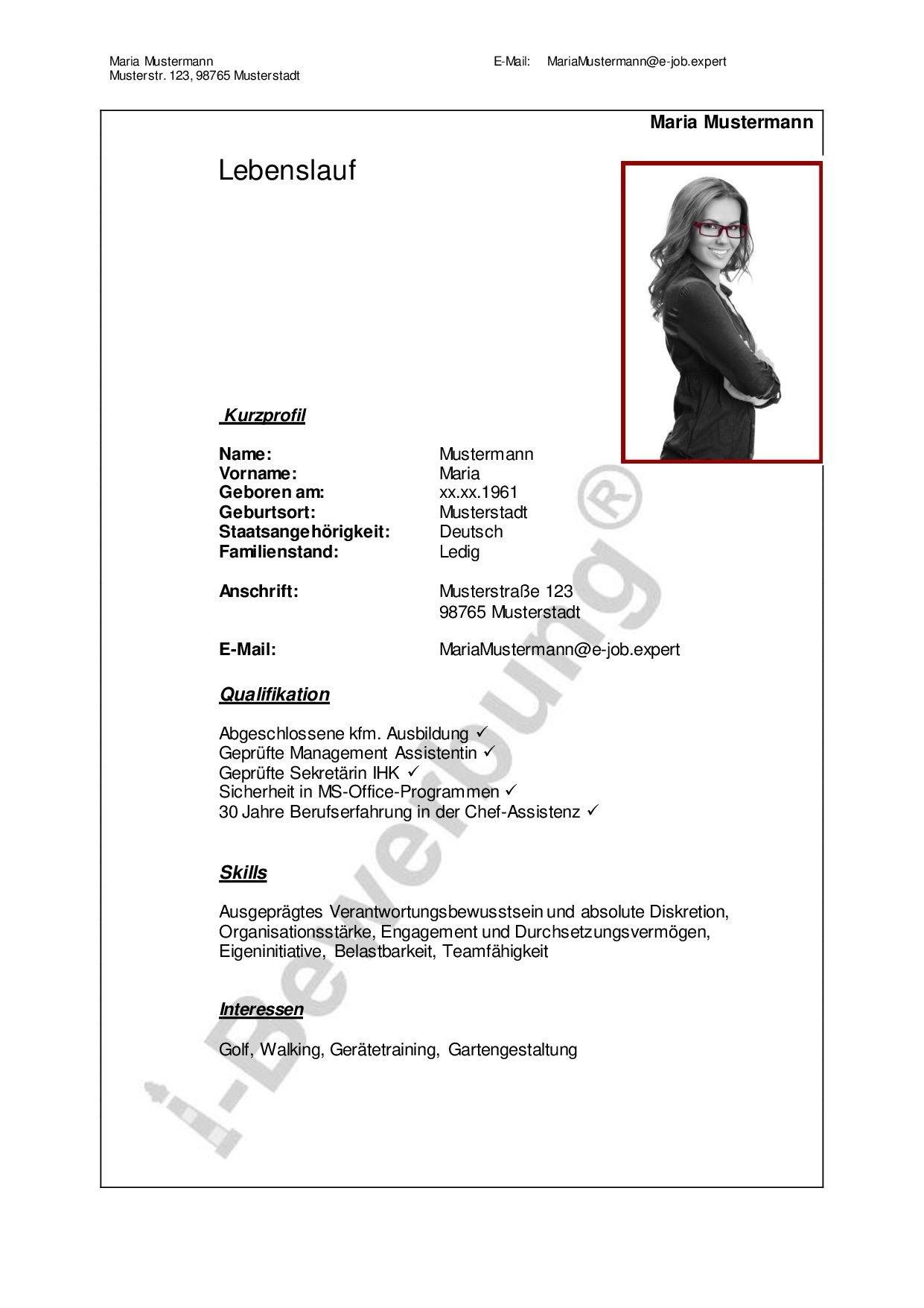 Ein Ratgeber für Ihre Karriereplanung | Lebenslauf, Deckblatt und ...