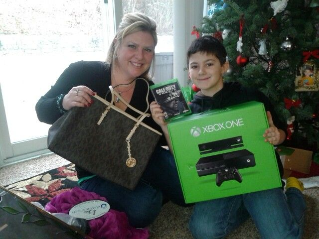 We were very excited about our Christmas gifts!