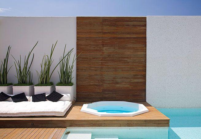 Decora o para quintal pequeno com piscina simple pool - Jacuzzi piscina exterior ...