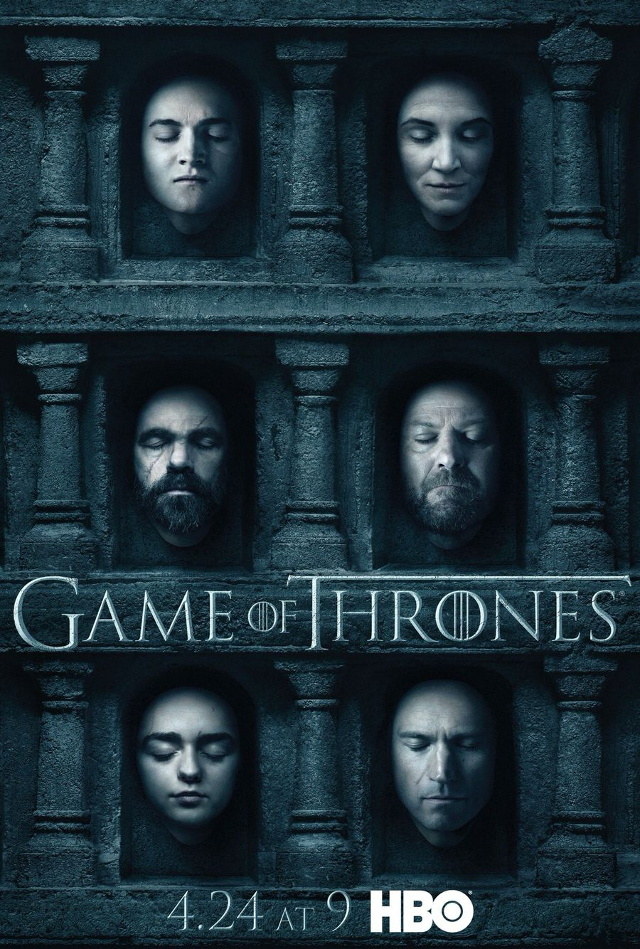 Official Game Of Thrones Season Six Posters Game Of Thrones Online Game Of Thrones Poster Watch Game Of Thrones
