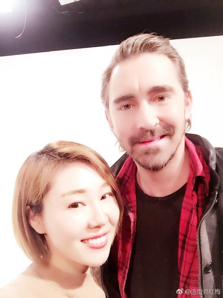 """Lee Pace China on Twitter: """"#leepace with stylist https://t.co/mEwEsg7uXd https://t.co/DOuiXnAkDQ"""""""