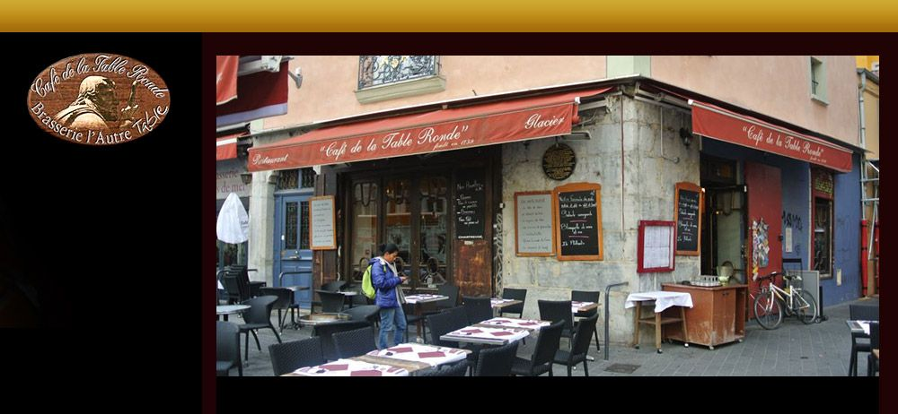 Caf De La Table Ronde The Oldest Caf In Grenoble And Second Oldest In France For A Coffee