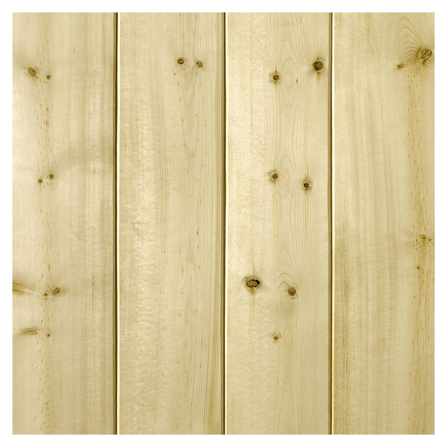 Shop Empire Company 0.31-in x 3.56-in x 8-ft Unfinished Wood Wall ...