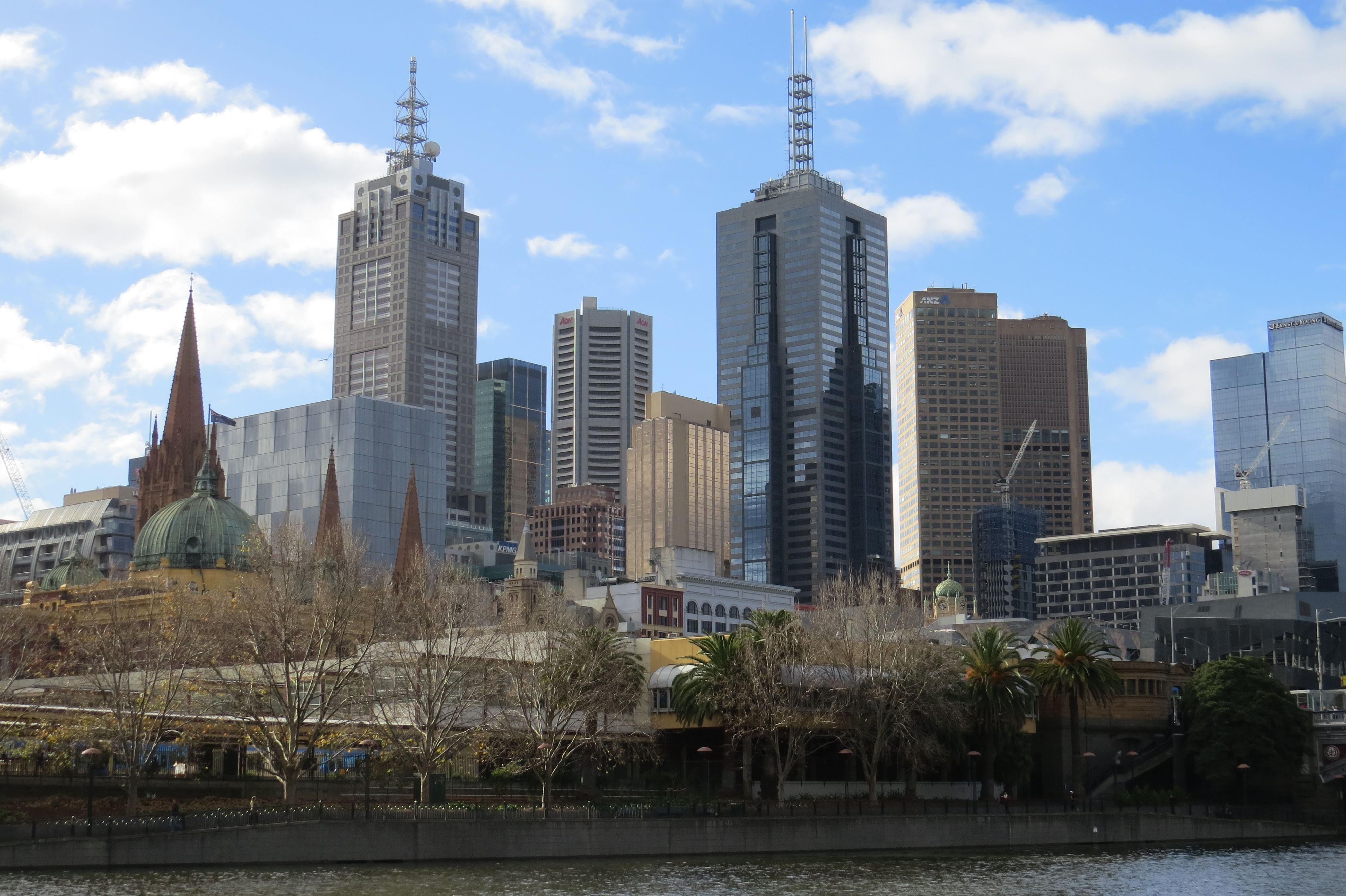 Stunning sunny Melbourne Day, spent admiring the city's