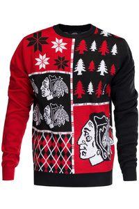 Chicago Blackhawks Ugly Christmas Sweater NHL 2016 Design ...