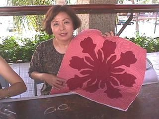 Hawaiian quilting site free downloadable patterns and instructions