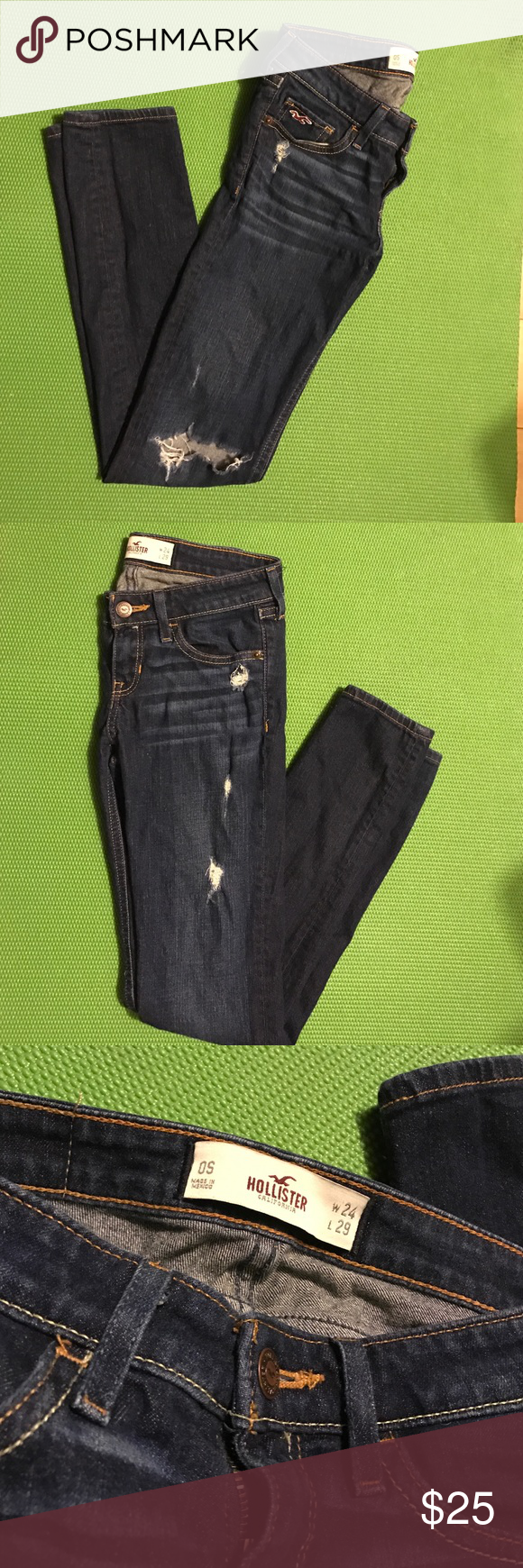 Hollister jeans In great condition, only used a couple of times. I accept offers (: Hollister Jeans Skinny