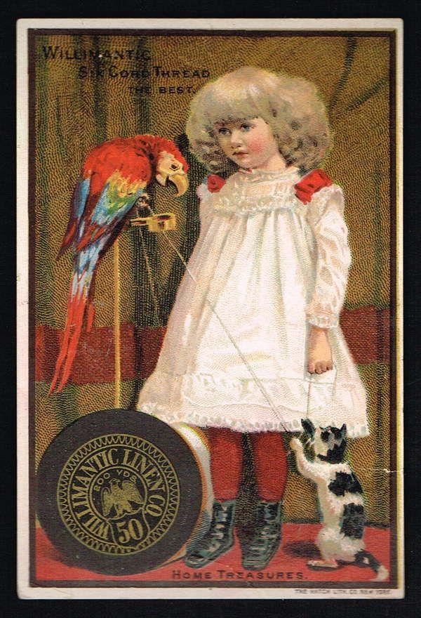 Willimantic Six Cord Thread Home Treasures | eBay