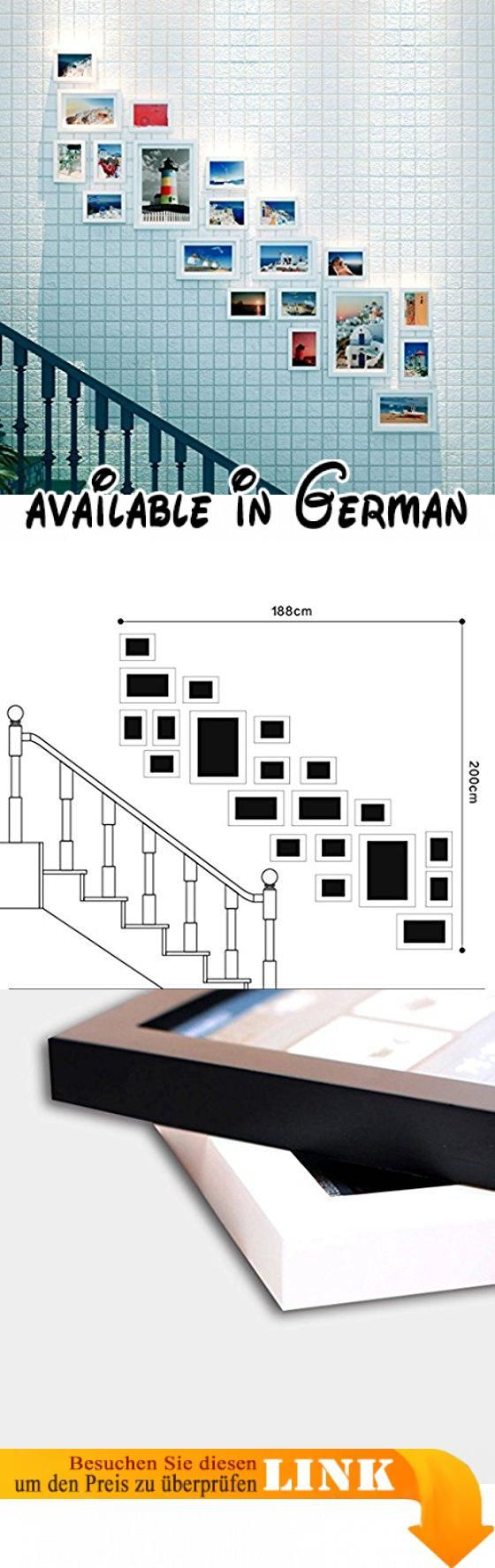 DENGJU Foto Wand Bilderrahmen Korridor Schlafzimmer Wohnzimmer  Handgefertigte Holzrahmen Sicherheit Eco Wall Set Bilderrahmen ( Farbe : B  ). Unsereu2026