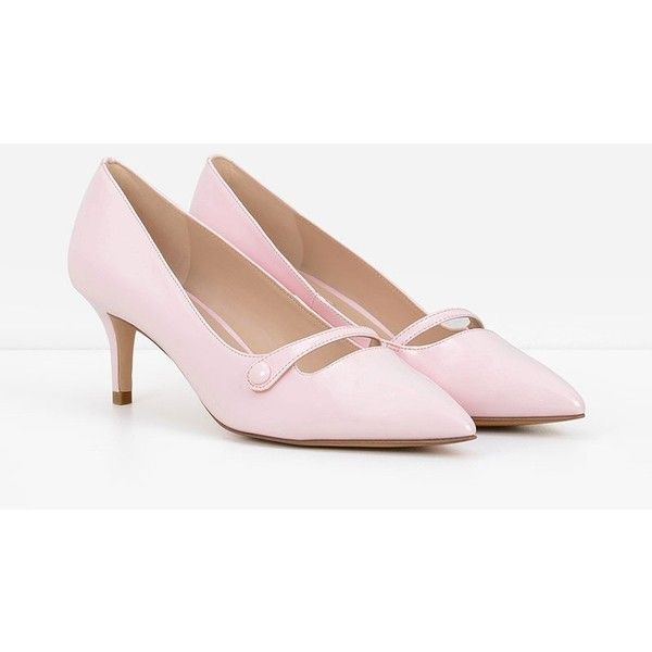 de40897ac52 CHARLES   KEITH Basic Patent Pumps ( 39) ❤ liked on Polyvore featuring shoes