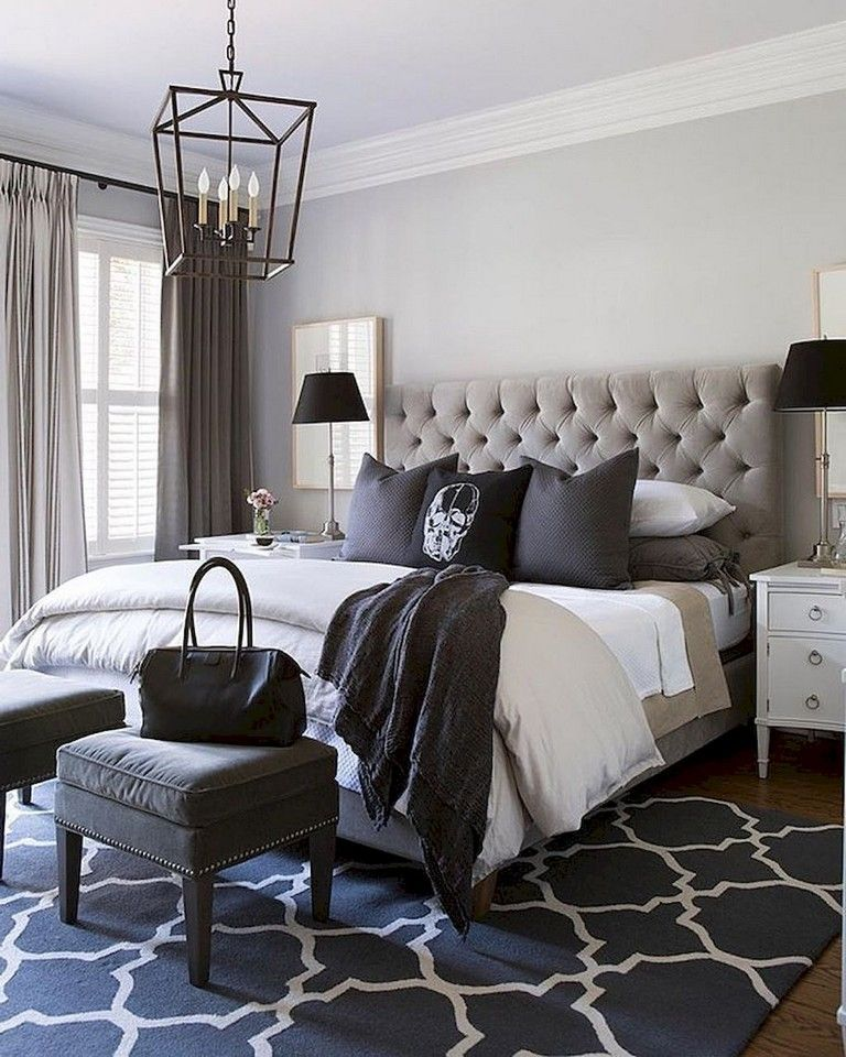 55+ Comfy Eclectic Master Bedroom Decor Ideas and Remodel ...