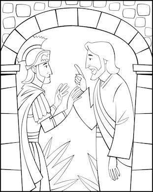 Lesson 2 Jesus Heals The Centurion S Centurion Sunday School