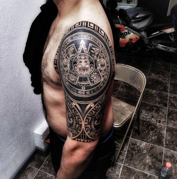 Diseños únicos De Tatuajes Aztecas Para Hombres Y Mujeres Tatuajes