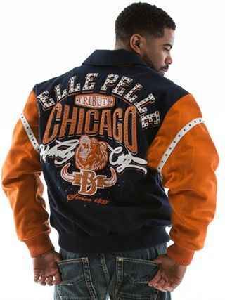 31b37eb19 Pelle Pelle Store: MENS CHICAGO-BEAR BLUE | Street Wear | Jackets ...