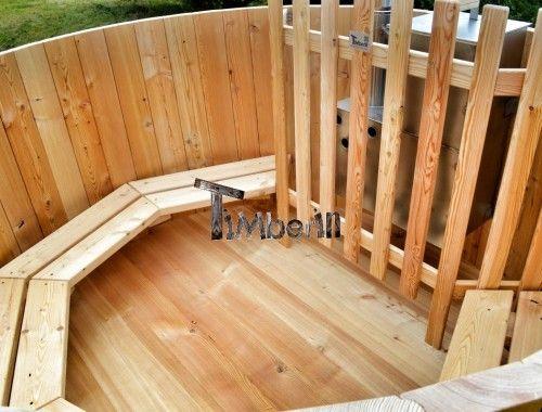 Træ Udendørs Badekar Basic TimberIN (3)