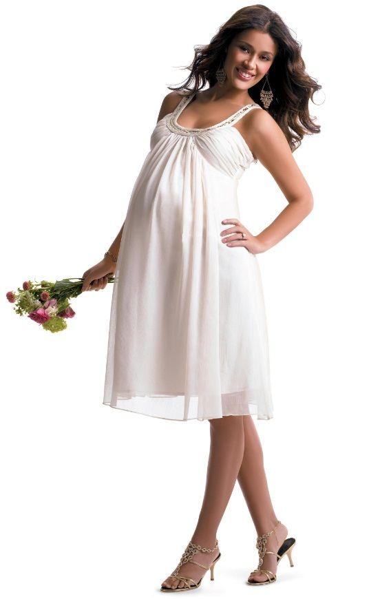 платья для беременных на свадьбу фото | Платья, Свадебные ...
