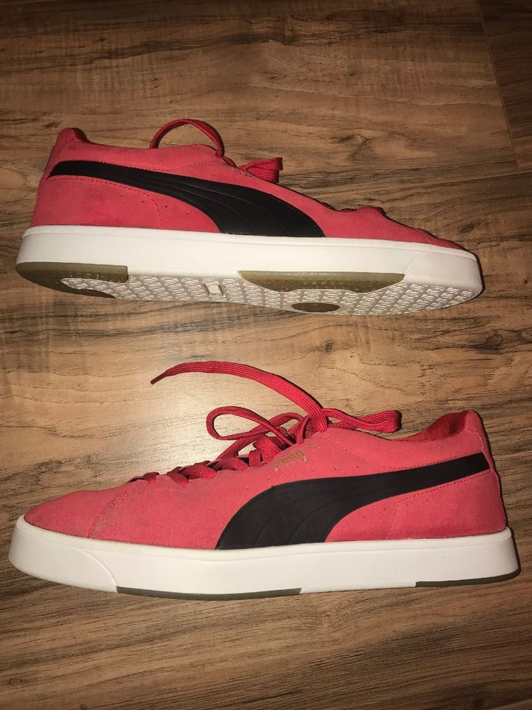 193ad903 Puma Men's SUEDE CLASSIC PLUS Shoes Red/Black 363242-25 b #fashion ...