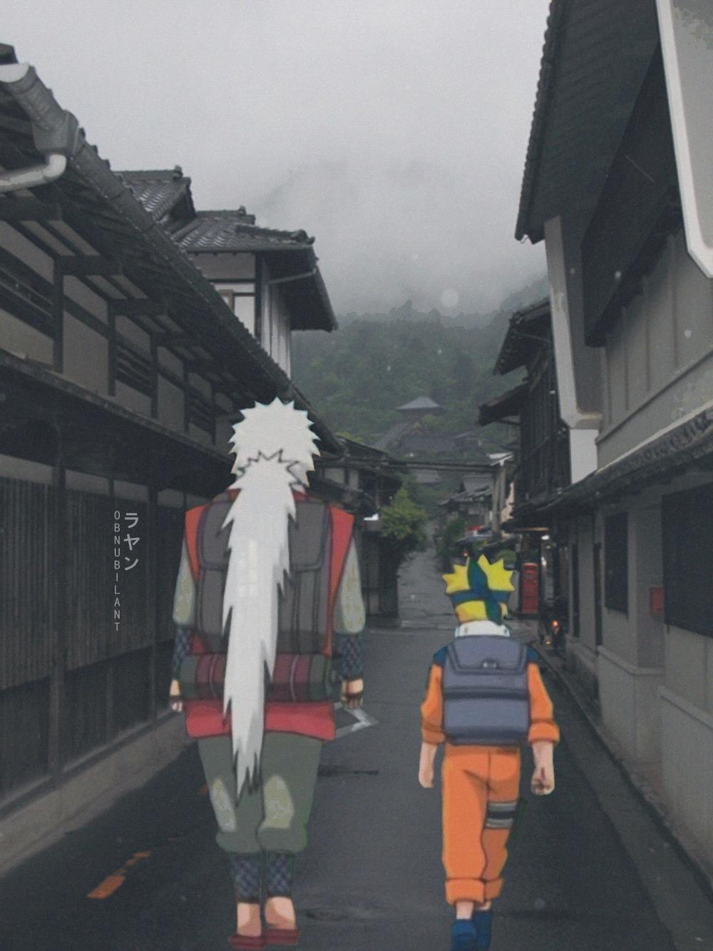 Obnubilant Naruto Jiraiya