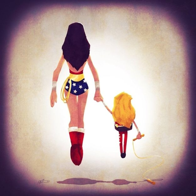 superheroes take their kids back to school