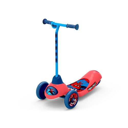 Marvel Ultimate Spider Man Safe Start 3 Wheel Electric Scooter