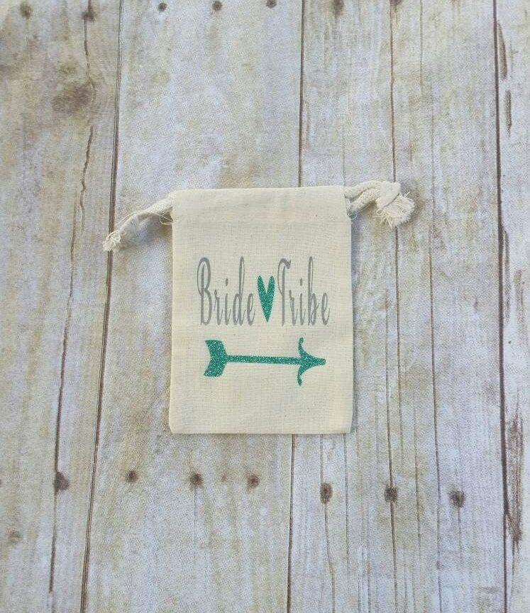 Bridesmaid Bag, Bride Tribe, Set of 4, Bride Tribe Bag, Bridesmaid ...