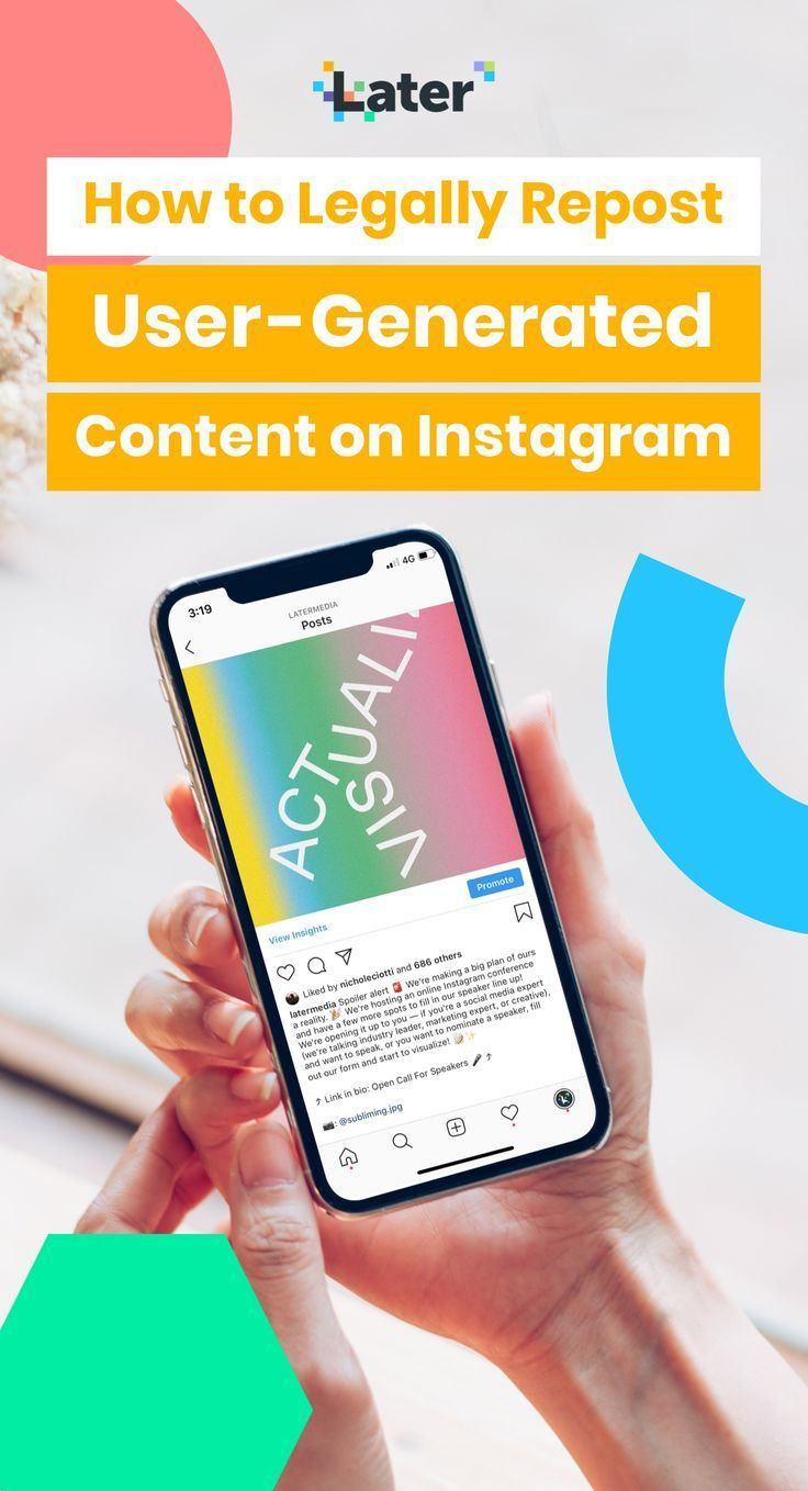 How to Legally Repost User-Generated Content on Instagram ...