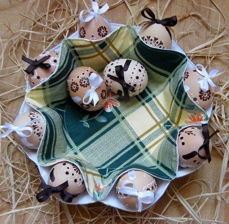 Пасхальный декор своими руками | Украшение пасхальных яиц ...