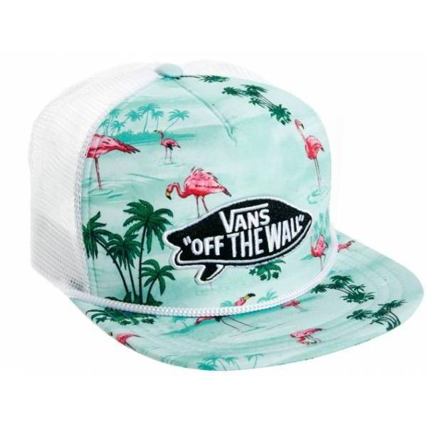 Vans Gorra estilo baseball con flamencos de Sombreros Hombre ❤ liked on  Polyvore featuring accessories and hats 8ecb42afbc0