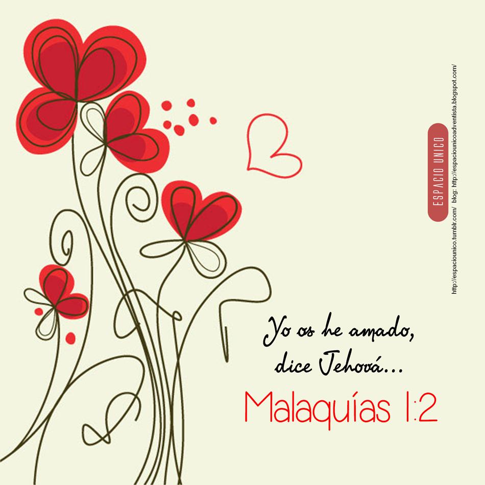 Malaquías 1:2 | Versos | Pinterest | Facebook, Cristianos y Mensajes